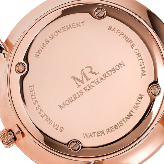 Rose Gold Watch Case Back - Morris Richardson