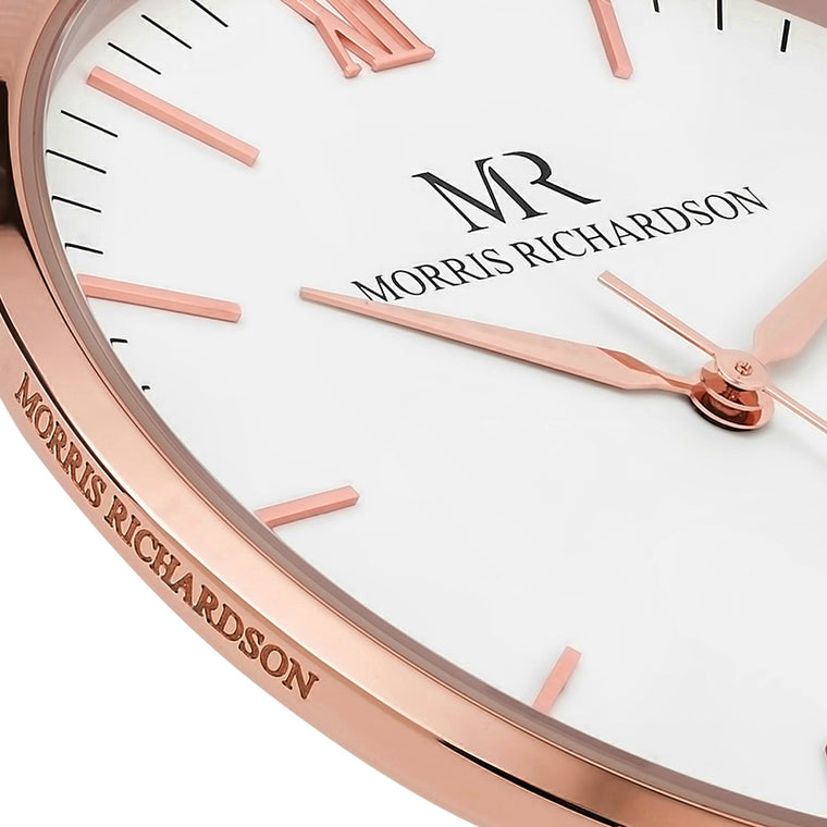 Womens Rose Gold Watch Detail - Morris Richardson