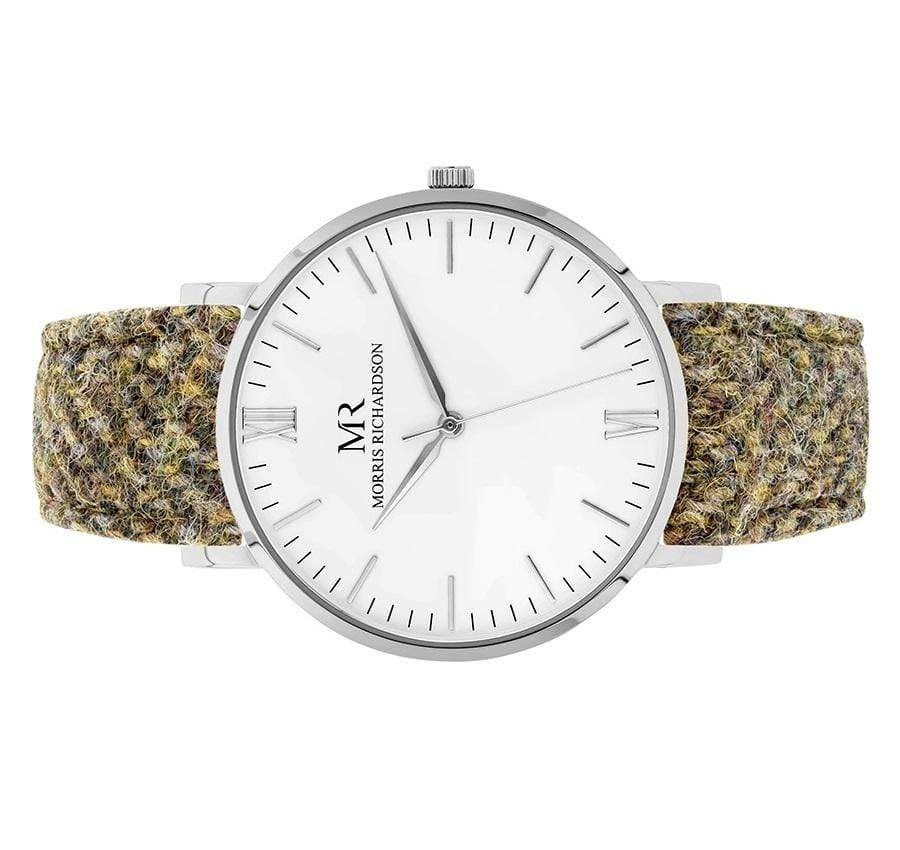 Chatsworth Watch Harris Tweed 40mm Silver – Morris Richardson