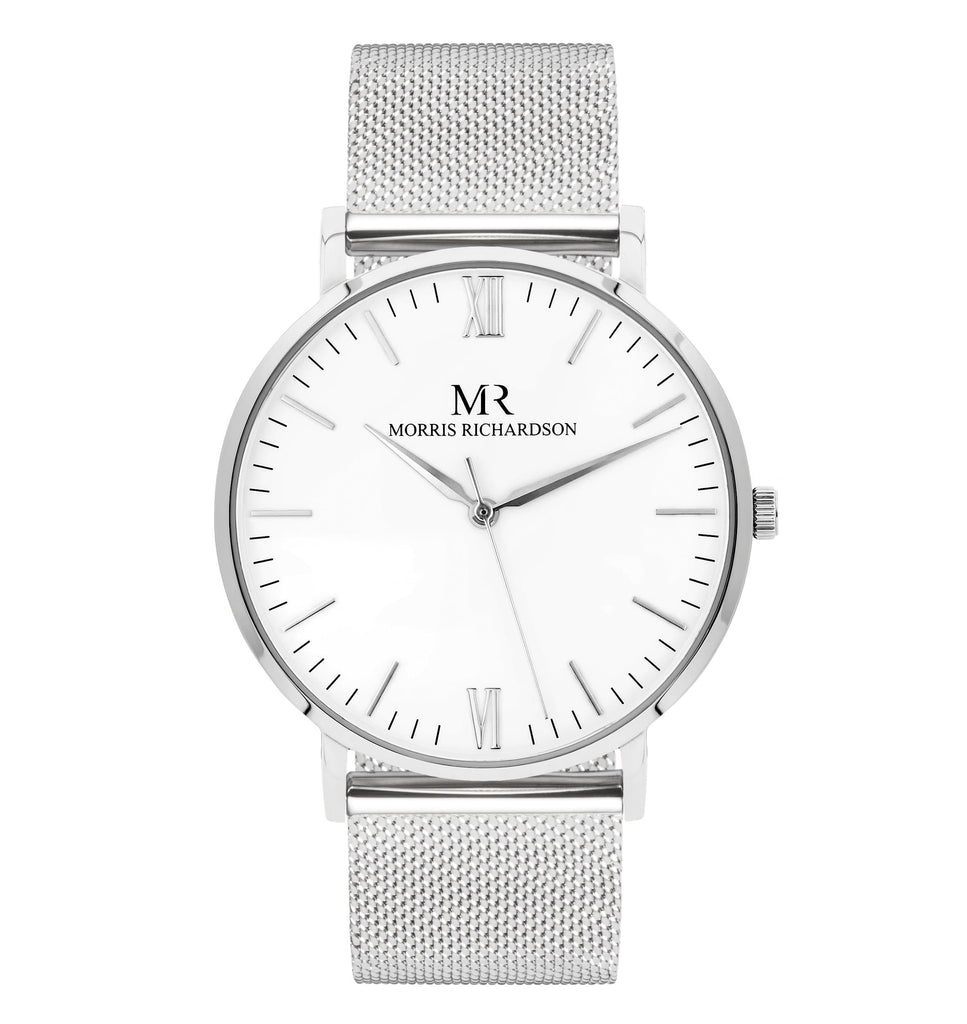 Holkham Watch Milanese Mesh 40mm Silver – Morris Richardson
