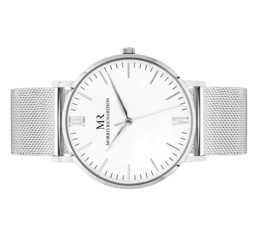 Womens Holkham Classic Silver 36mm Milanese Mesh Watch – Morris Richardson
