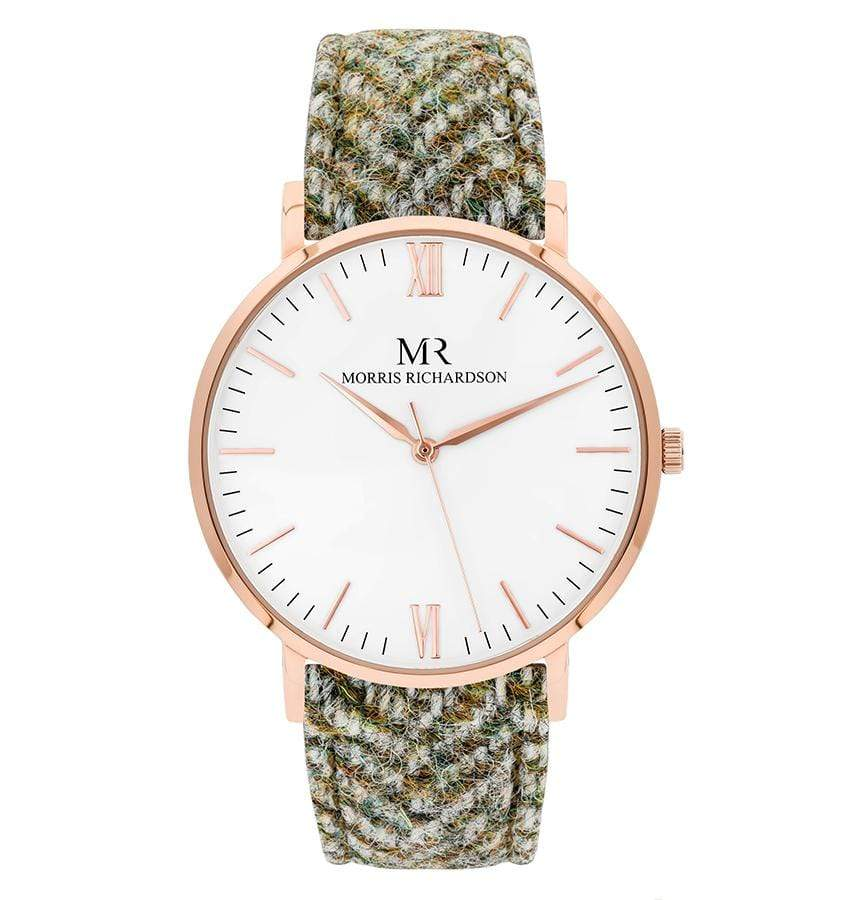 Howard Watch Harris Tweed 40mm Rose Gold – Morris Richardson