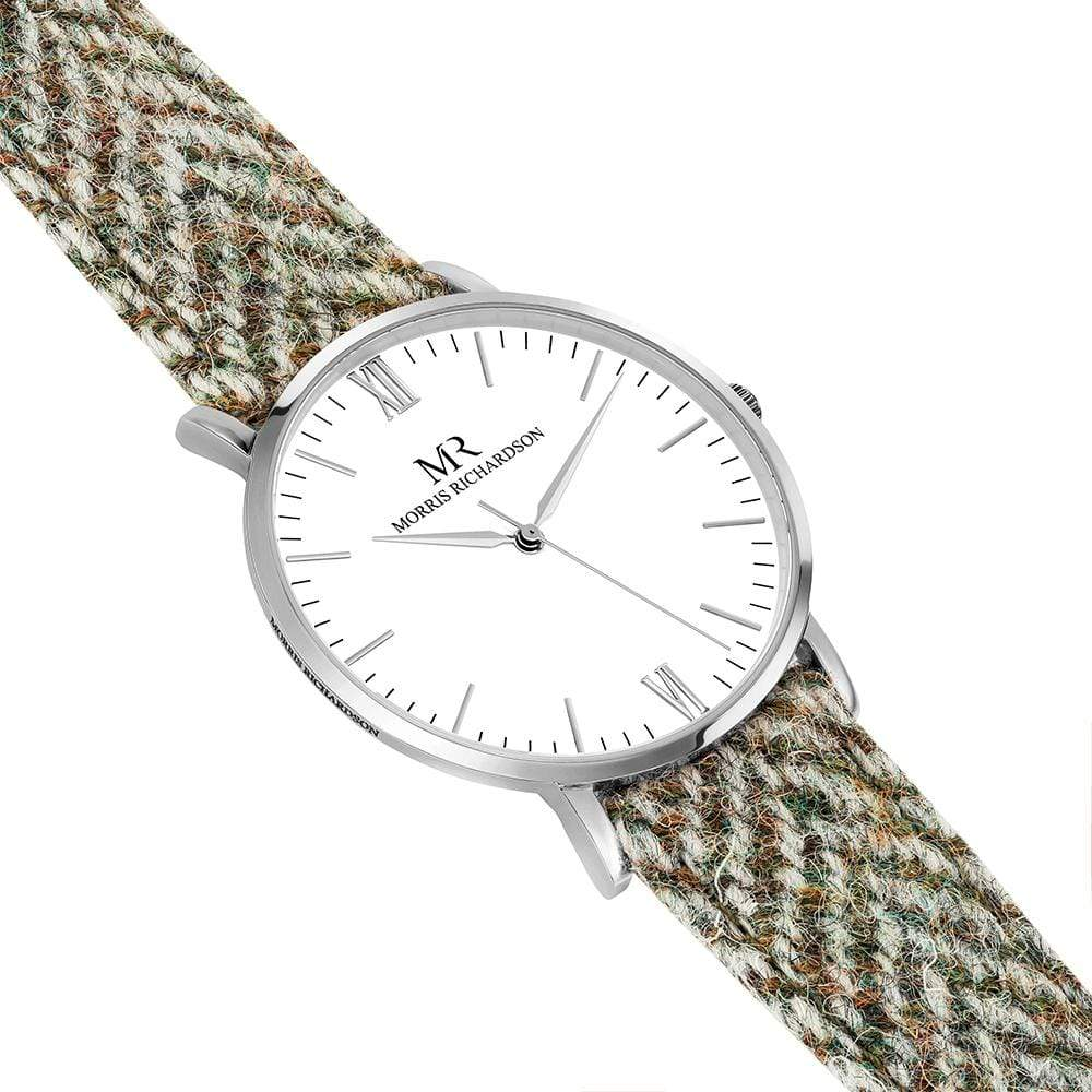 Howard Watch Harris Tweed 40mm Silver – Morris Richardson