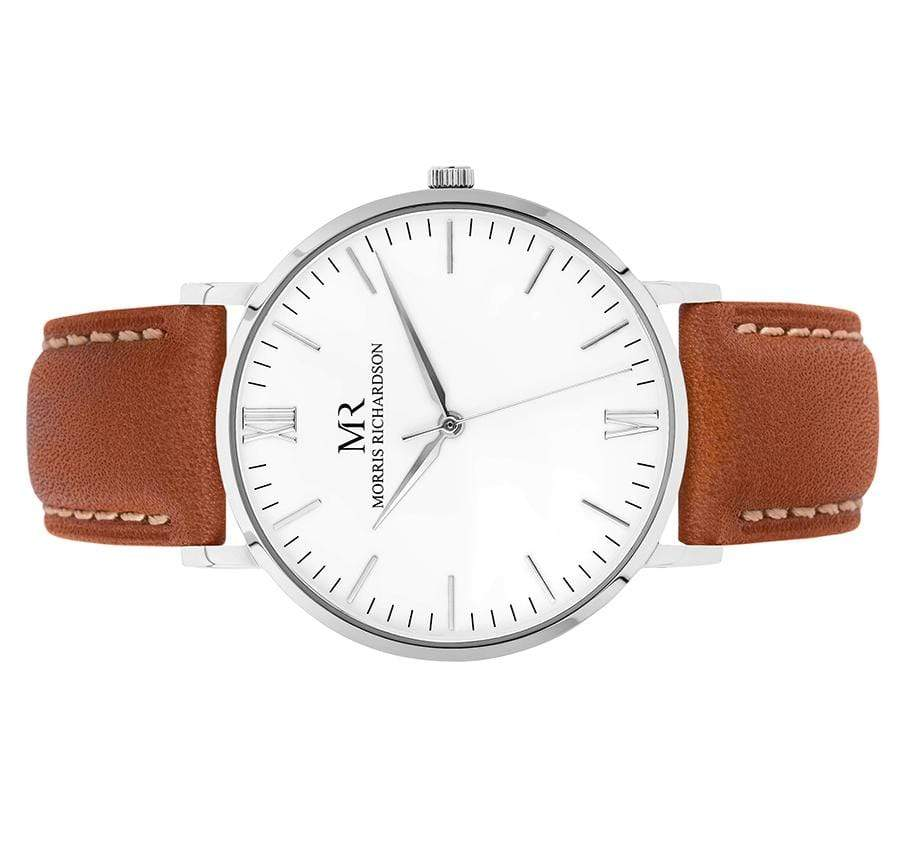 Osborne Watch Leather 40mm Silver – Morris Richardson