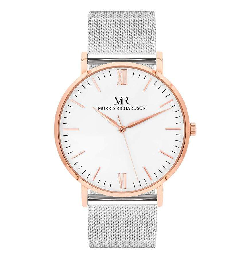 Wentworth Watch Milanese Mesh 40mm Rose Gold – Morris Richardson