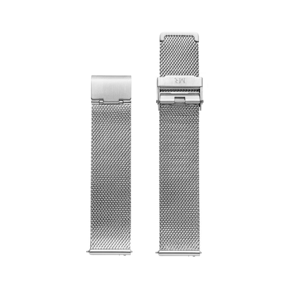 Holkham Watch Strap Milanese Mesh 20mm Silver - Morris Richardson