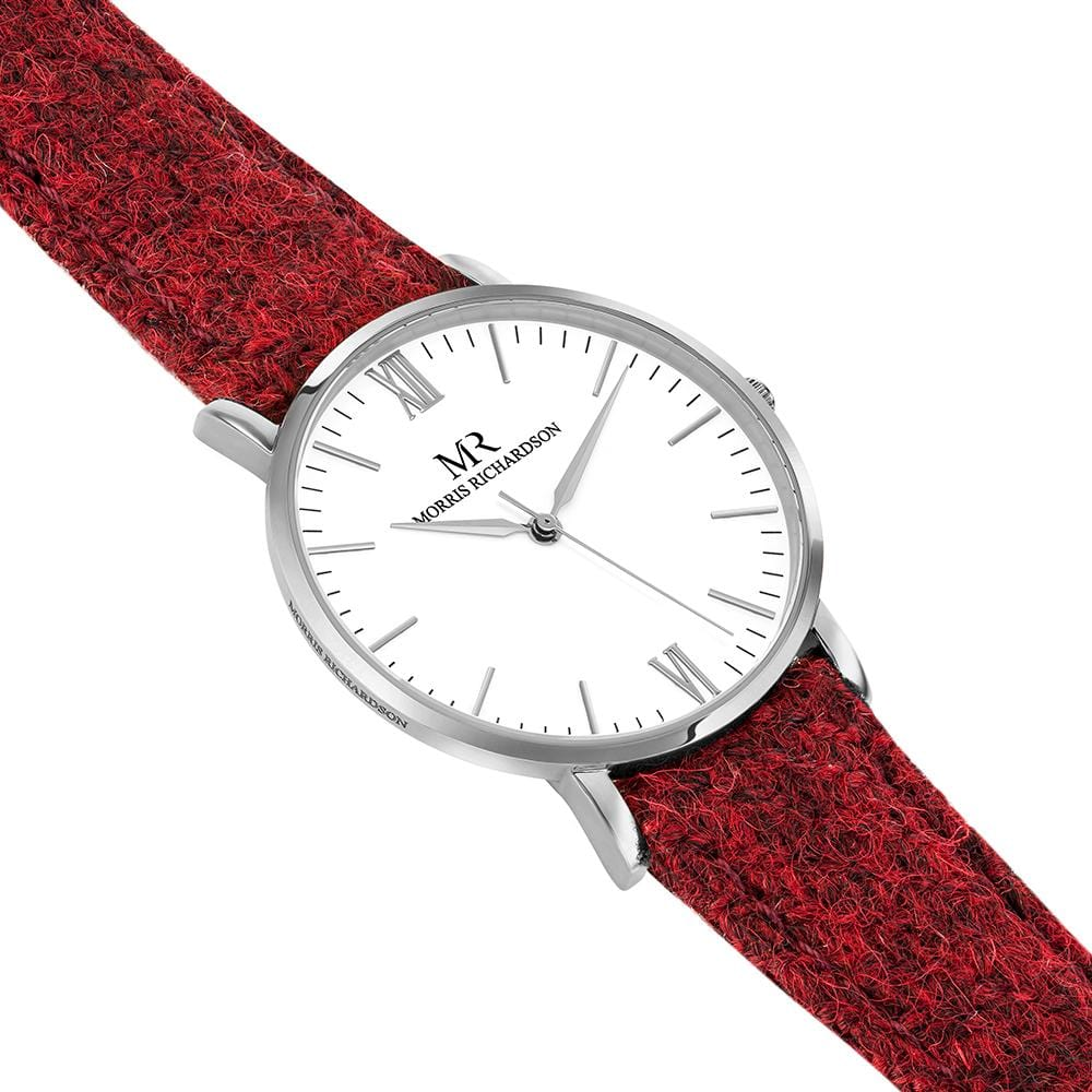 Belton Watch Harris Tweed 36mm Silver – Morris Richardson