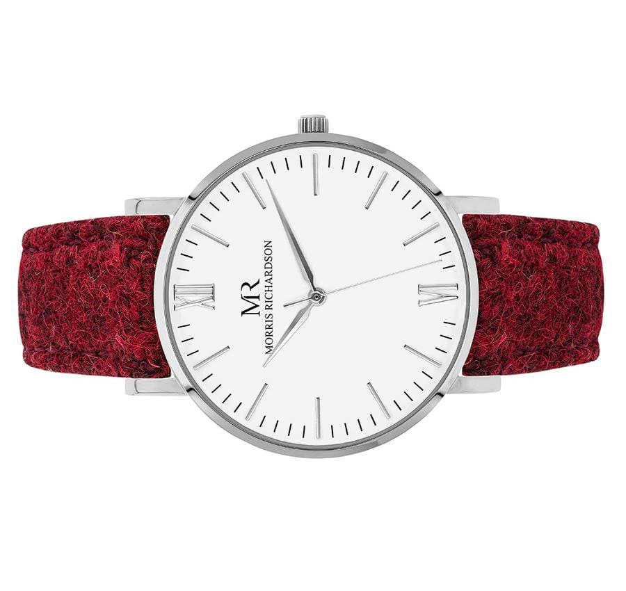 Womens Belton Classic Silver 36mm Harris Tweed Watch – Morris Richardson