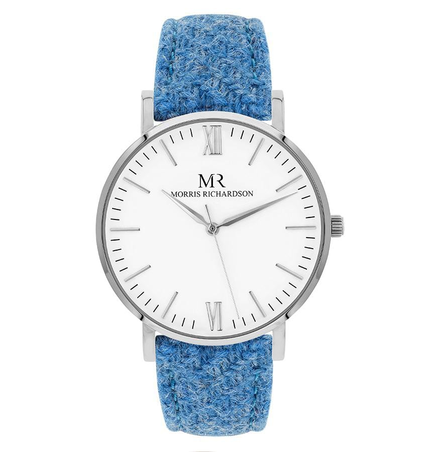 Womens Bramham Classic Silver 36mm Harris Tweed Watch – Morris Richardson
