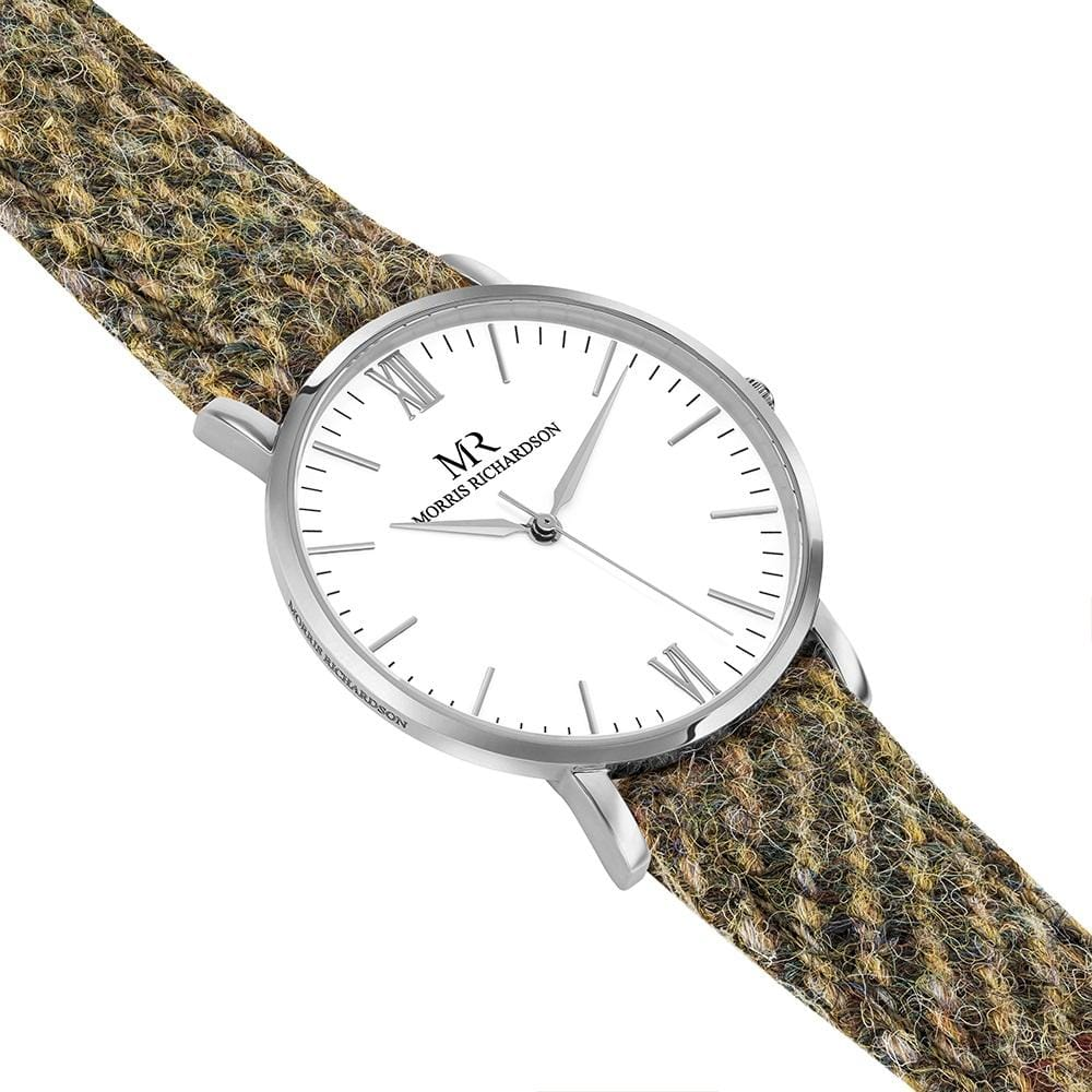 Chatsworth Watch Harris Tweed 36mm Silver – Morris Richardson