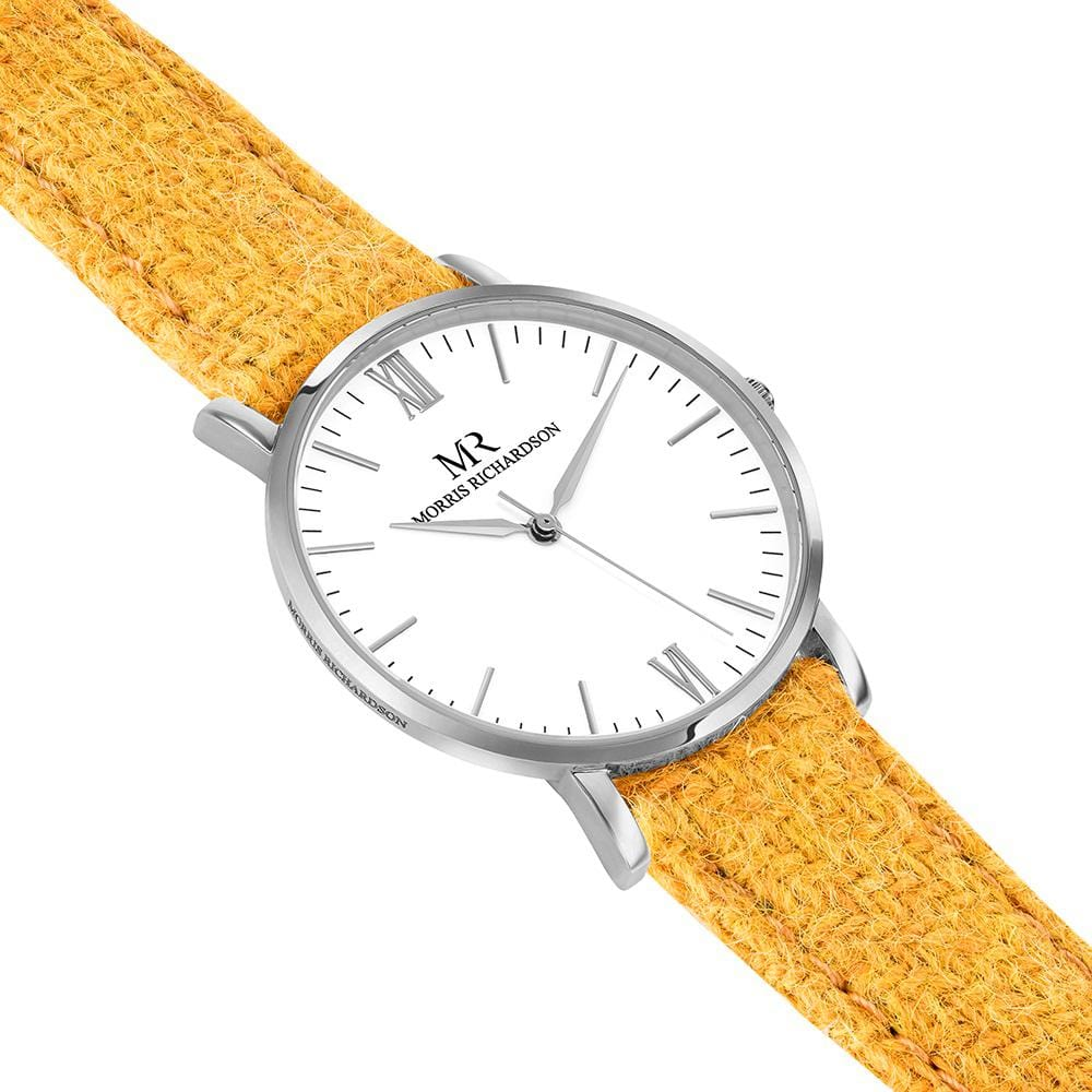 Womens Hatfield Classic Silver 36mm Harris Tweed Watch – Morris Richardson