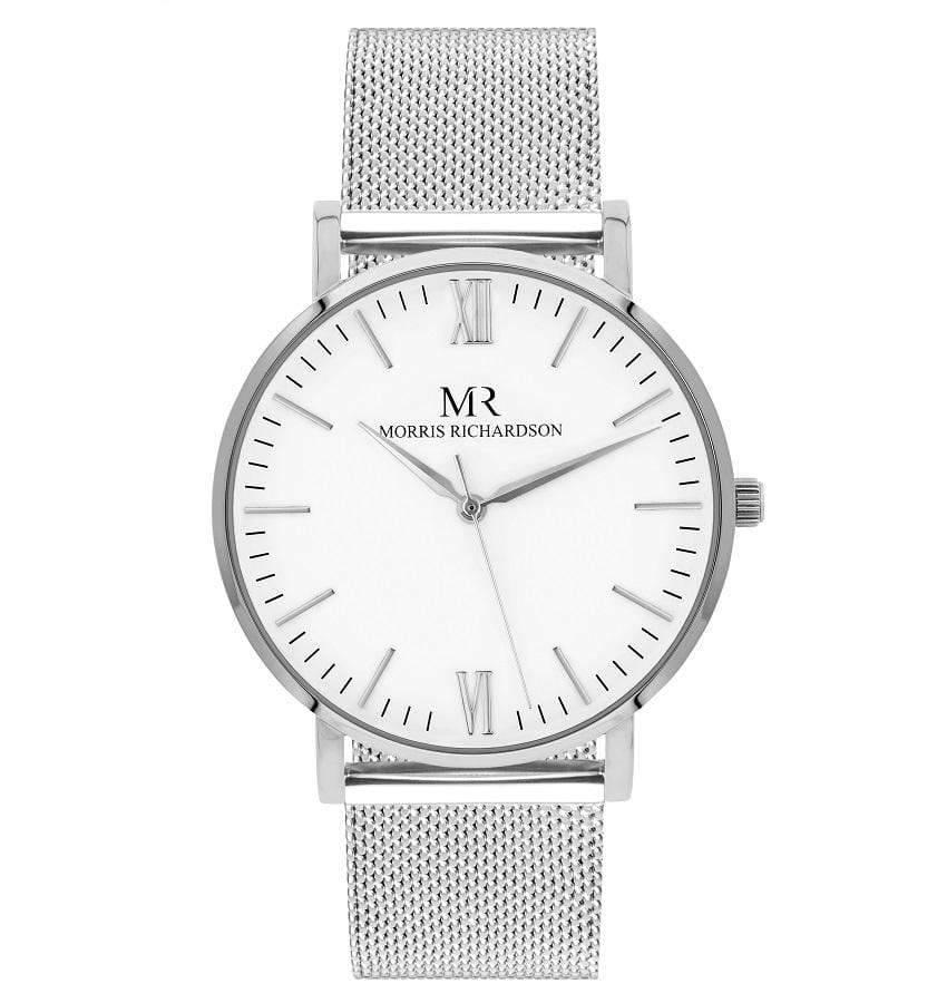 Holkham Watch Milanese Mesh 36mm Silver – Morris Richardson