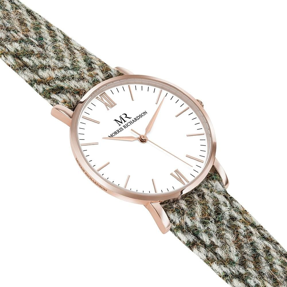 Howard Harris Tweed Watch 36mm Rose Gold – Morris Richardson, 913601008