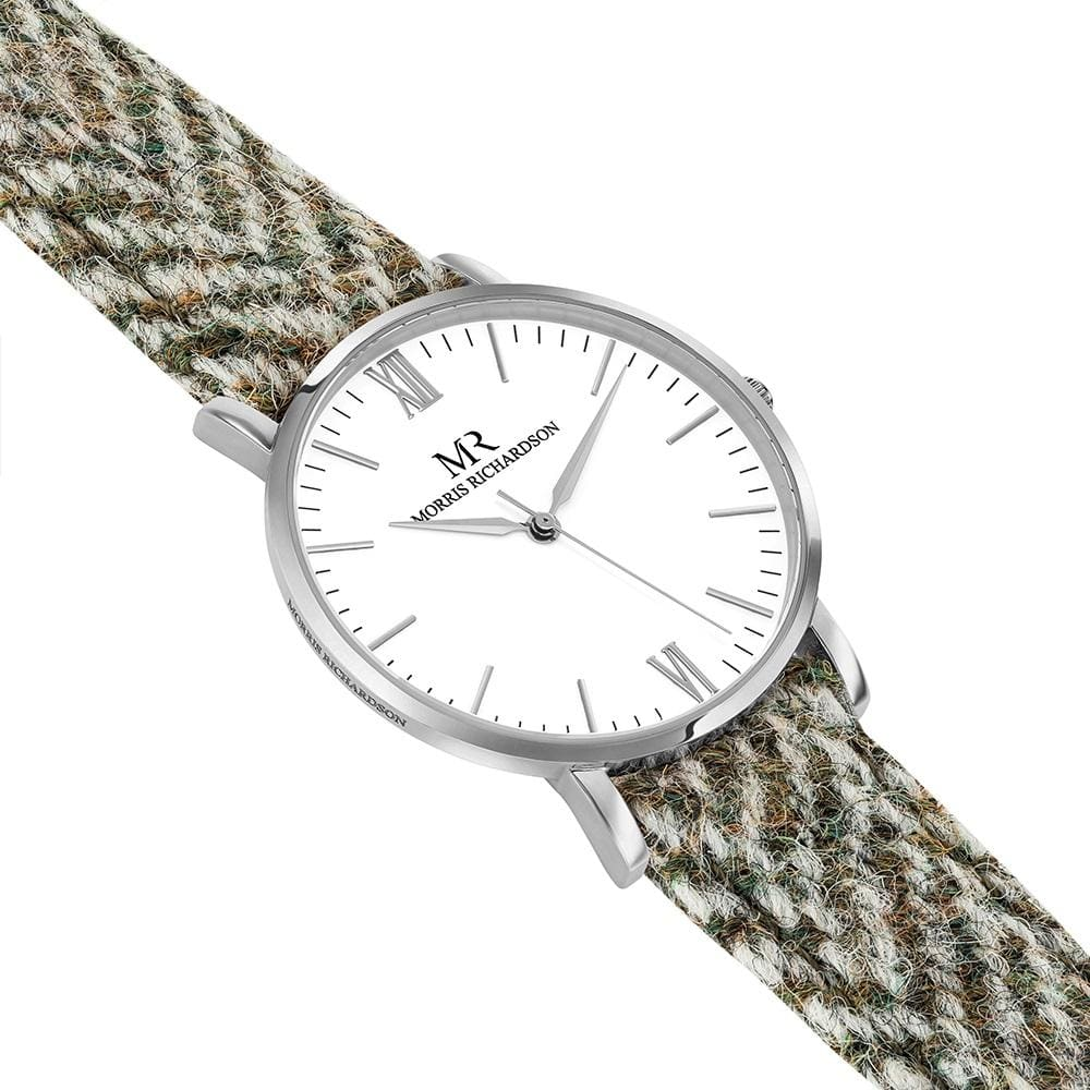 Howard Harris Tweed Watch 36mm Silver – Morris Richardson, 913602008