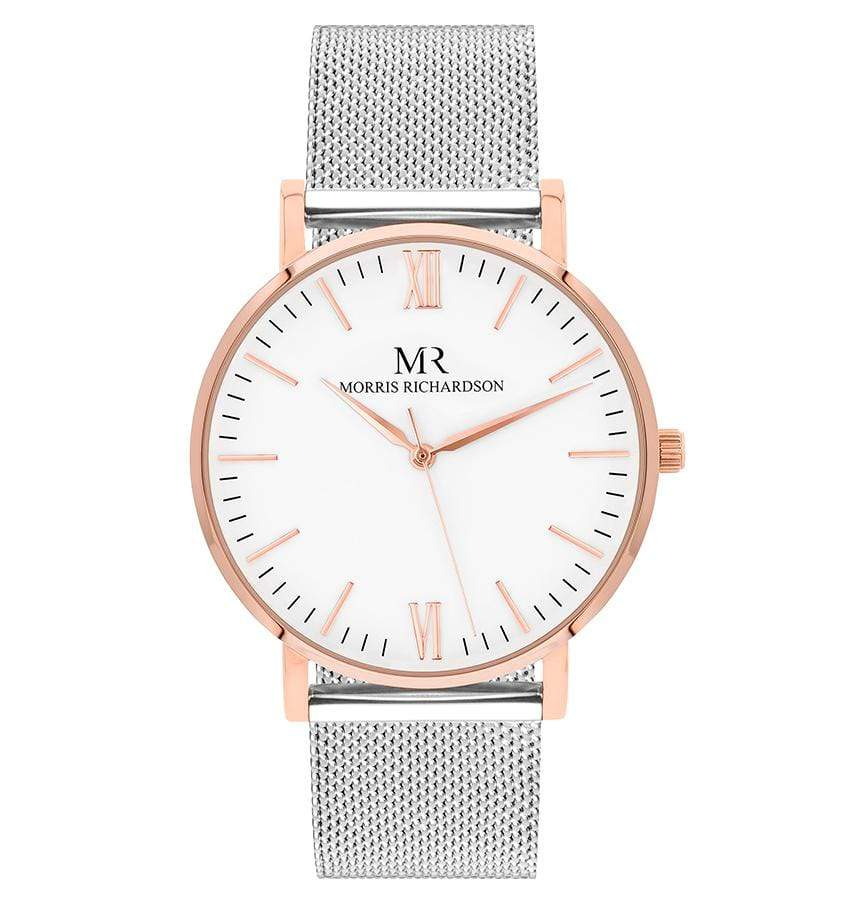 Wentworth Watch Milanese Mesh 36mm Rose Gold – Morris Richardson