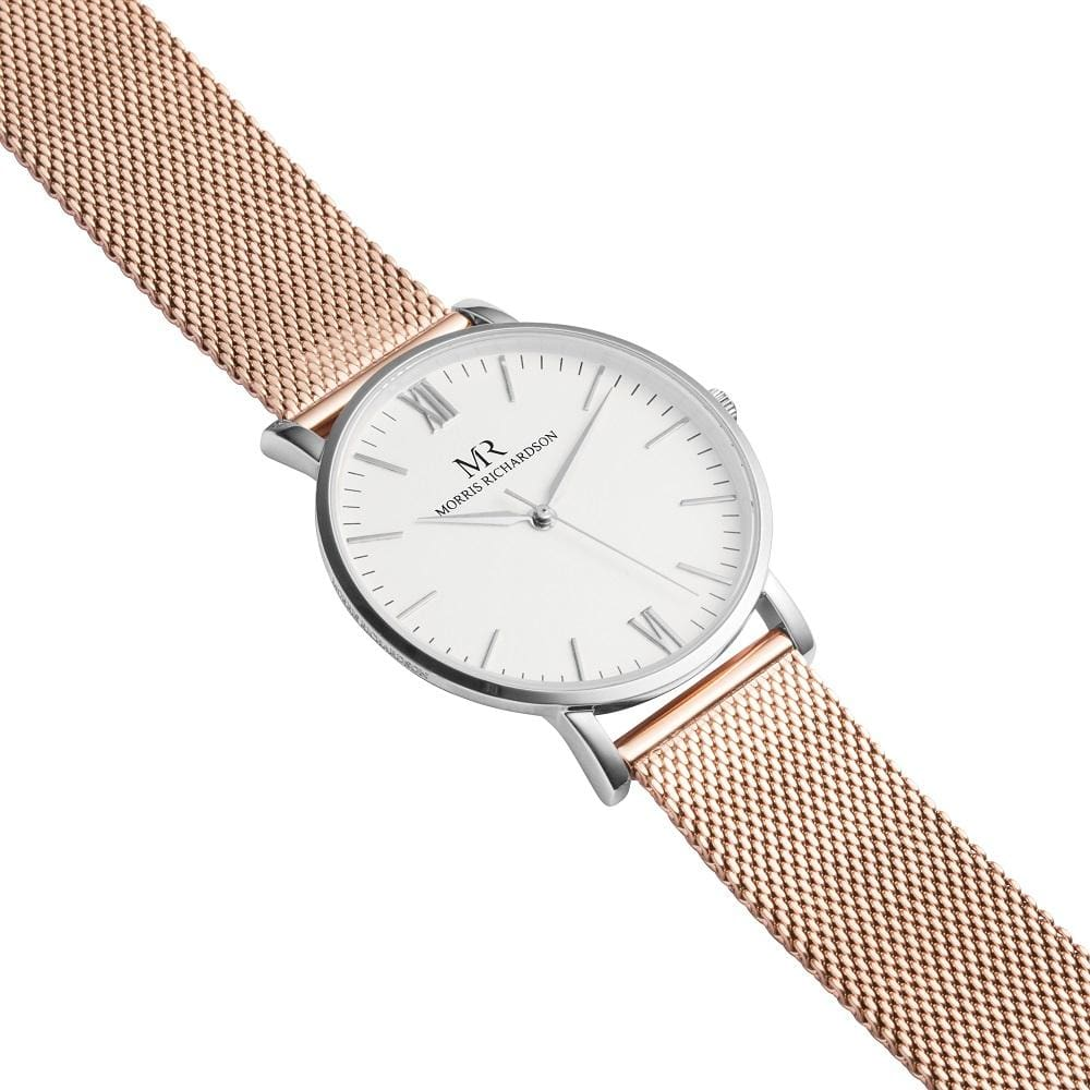 Womens Wentworth Classic Silver 36mm Milanese Mesh Watch – Morris Richardson