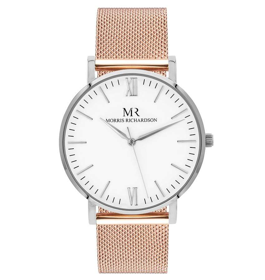 Wentworth Watch Milanese Mesh 36mm Silver – Morris Richardson