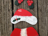Santa Welcome Bear Outfit - Simply Said Signs