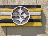 Pittsburgh Steelers Wood Plank Sign - Simply Said Signs