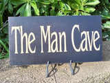 Sign, Man Cave Sign, garage sign - Simply Said Signs