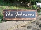 Personalized Family Name Sign ~ Last Name Sign ~ Personalized Name Sign - Simply Said Signs