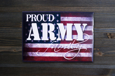 American Flag Army Magnet