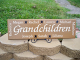 Personalized Grandmother Gift ~ Design A - Simply Said Signs
