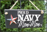 Us Navy Sign, Grandma Gift - Simply Said Signs
