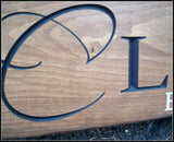 Carved Wood Signs ~ Wedding Sign - Simply Said Signs