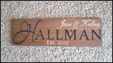 Carved Wood Sign ~ Personalized Engraved Sign - Simply Said Signs