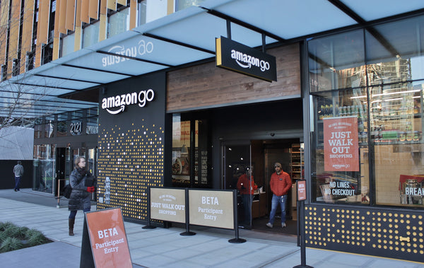 amazon go launch first AI powered supermarket