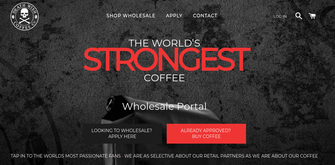 Shopify Wholesale storefront