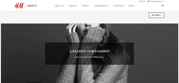 h&m launch online discount store p21 project