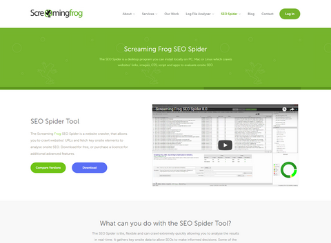 screaming frog seo tool for ecommerce