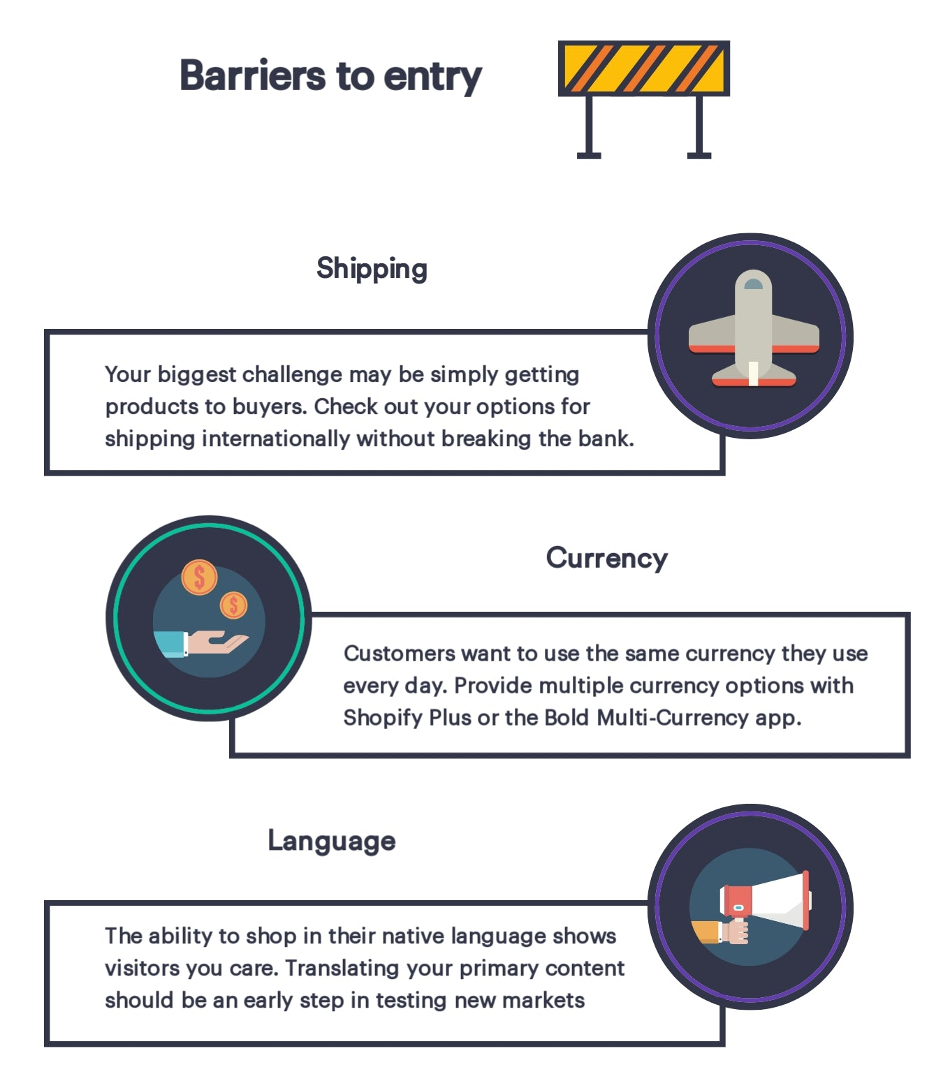 barriers to entry into a new market