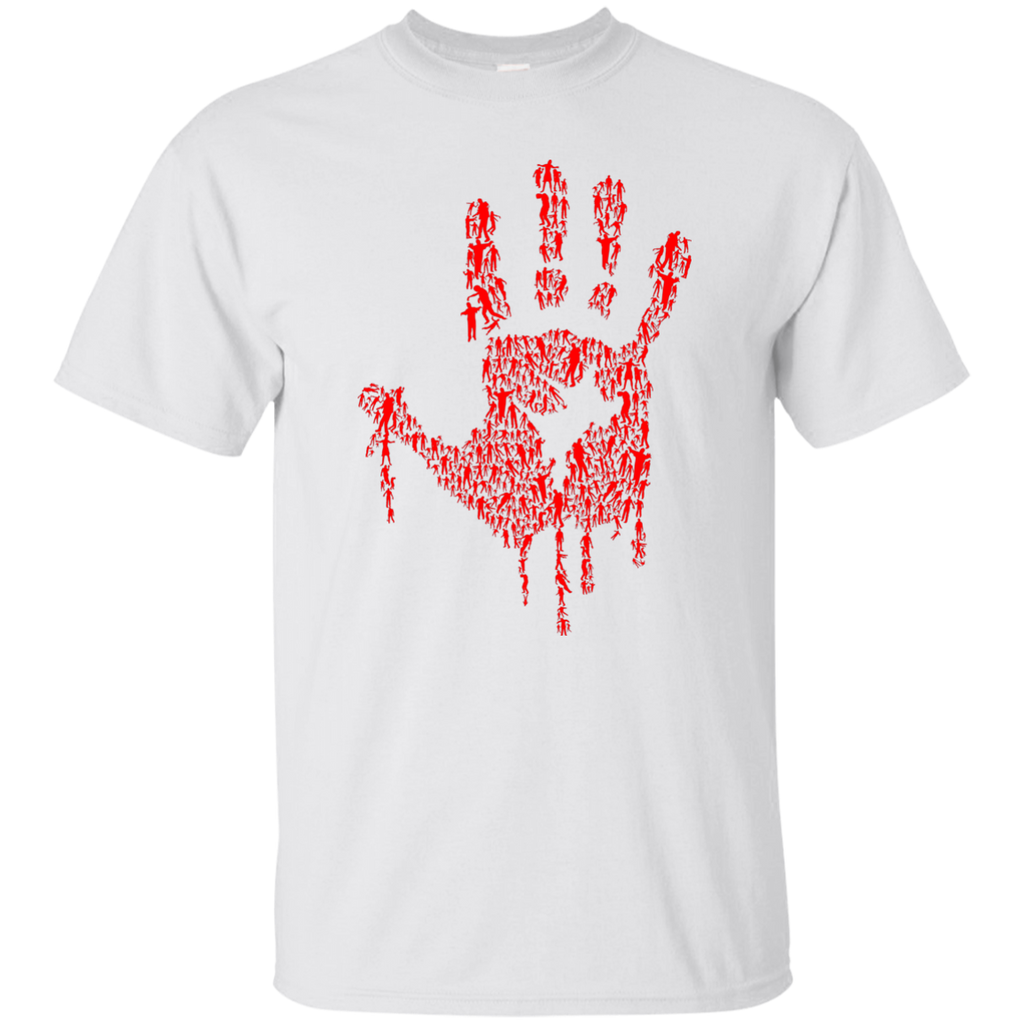 Hand of Zombies Cotton T-Shirt