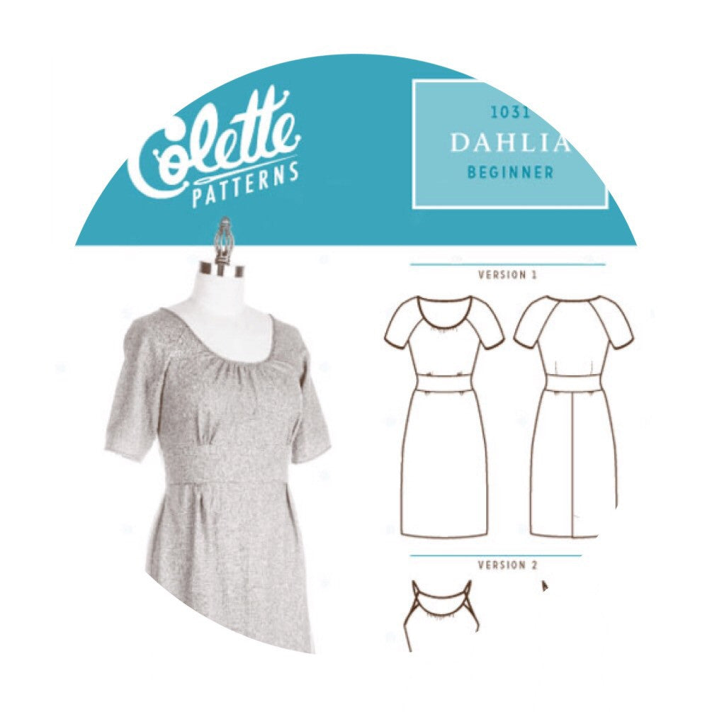 Dahlia Dress - Colette Patterns 1031 – Pins & Needles Fabrics