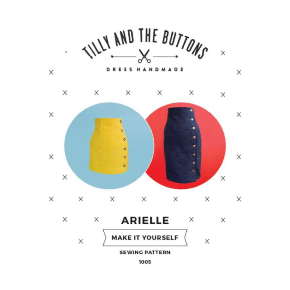 Modern Sewing Patterns - Online Sewing Supplies Canada - Tilly and the Buttons - Sewing for Beginners - Arielle Skirt
