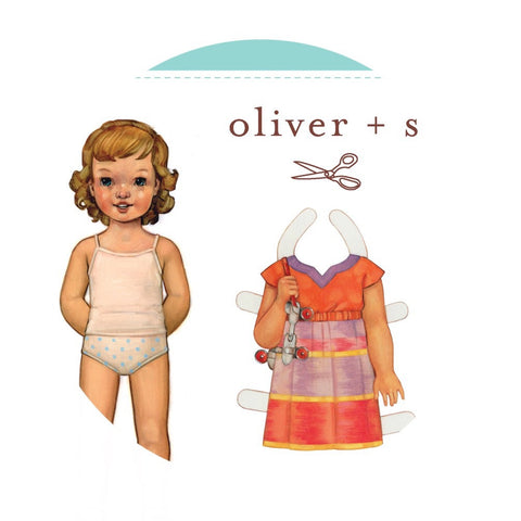 Roller Skate Dress & Tunic Sewing Pattern (Sizes 5-12 years) - Oliver + S Patterns
