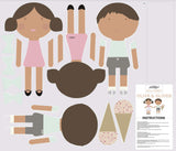 Riley Blake Fabric - Fabric Online Canada - Doll Fabric Cottons - See Kate Sew