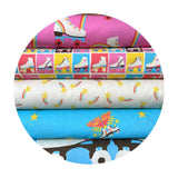 Skate Blocks - Let the Good Times Roll Collection - Paintbrush Studio Fabrics