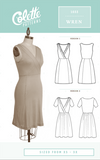 Colette Patterns - Modern Sewing Patterns - Online Sewing Supplies Canada - Sewing for Beginners - Wren Dress