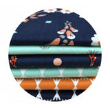 Organic Fabric - Fabric Online Canada - Fat Quarter Bundle - Cloud9 Organic Fabric -  Foxglove