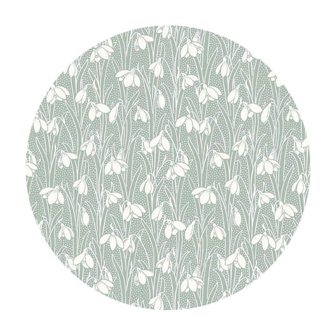 Hesketh in Pale Green - The Hesketh House Collection - Liberty Fabrics