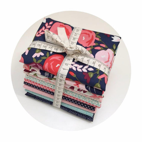 10 Fat Quarter Bundle - Posy Garden Collection - Riley Blake Designs