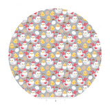 1.5 meters left! - Chickens in Gray - Down on the Farm Collection - Riley Blake Designs