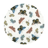 Monarch in Cream Cotton Lawn Metallic - English Garden by Rifle Paper Co. - Cotton + Steel Fabrics