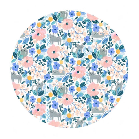 Kitty Floral - Summer Lovin' Collection - Dear Stella Fabrics