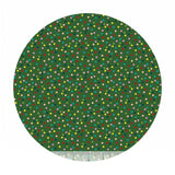 1 meter left! - Light It Up in Green -  A Winter's Tail Collection - Blend Fabrics