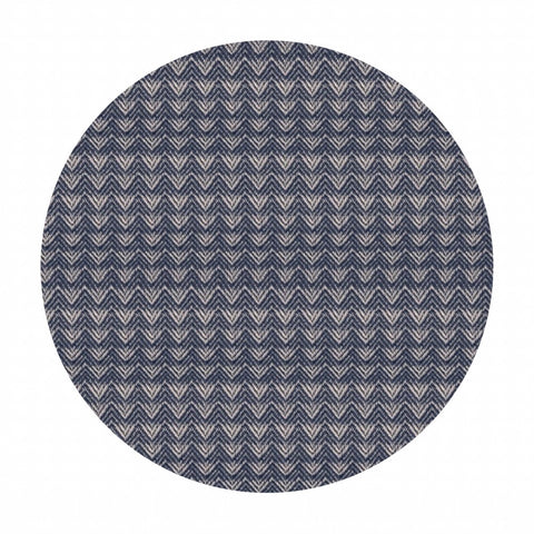 Mountains in Navy - Warp & Weft Wovens Collection - Alexia Abegg - Ruby Star Society